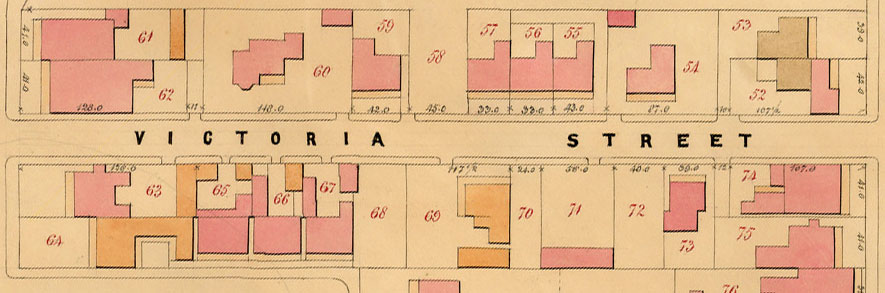 John Vardy, Plans of the Borough of St Kilda 1873, plan 5WW, CPP Collection