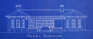 Alterations to front elevation 1924